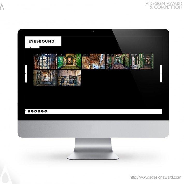 Eyesbound (Portfolio Website Design)