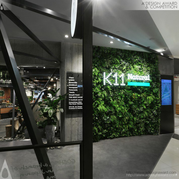 "K11 Natural Zone With ""modern Vivarium"" by AS Design collaboration with K11"
