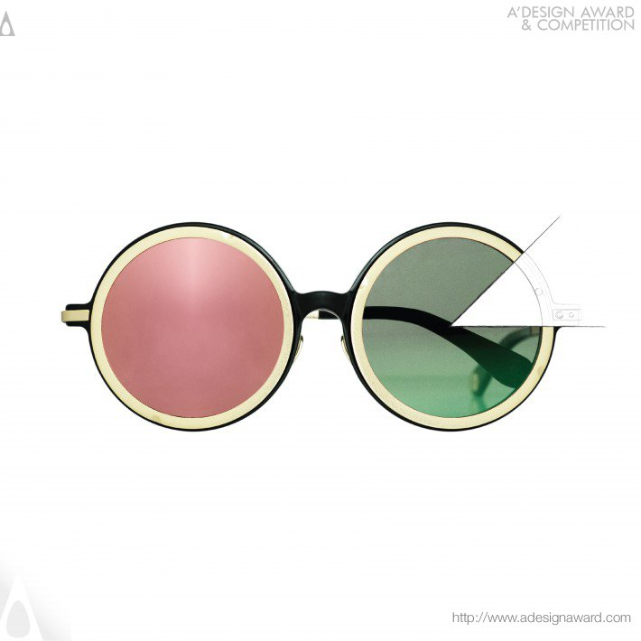 Soulmate Adjustable Brightness Sunglasses by Jolly Yan Yee Kee