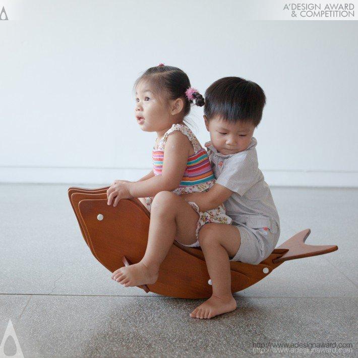Rocking Dolphin (Kid Furniture Design)