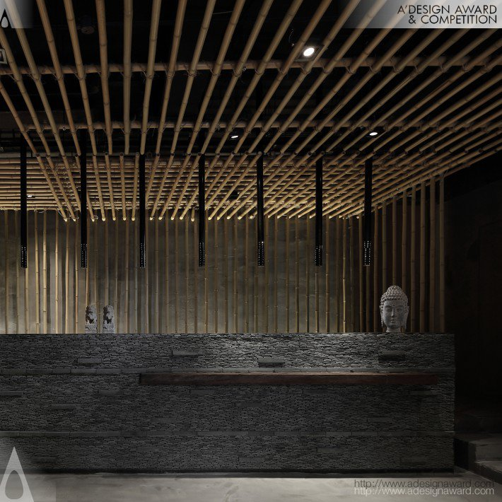 Nanjing Bamboo-Themed Restaurant (A Restaurant Design)