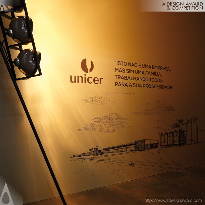 125 Years Unicer Exhibition by Omdesign