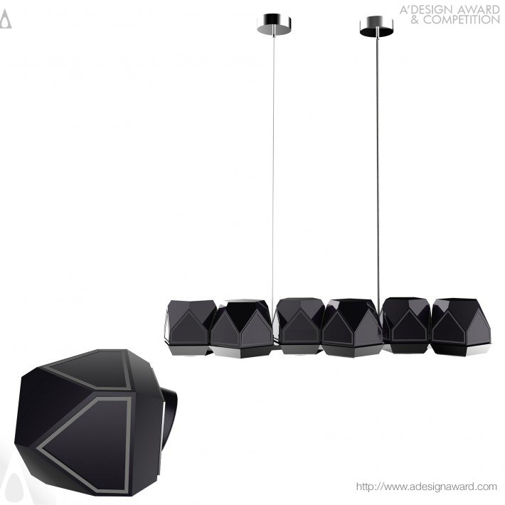 Meteorite by Lampart Lighting Solutions