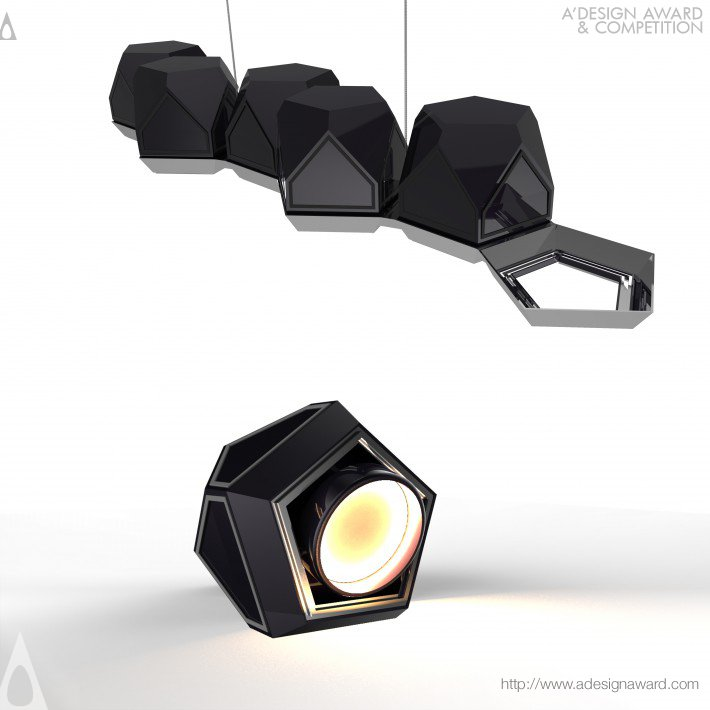 Meteorite Light by Lampart Lighting Solutions