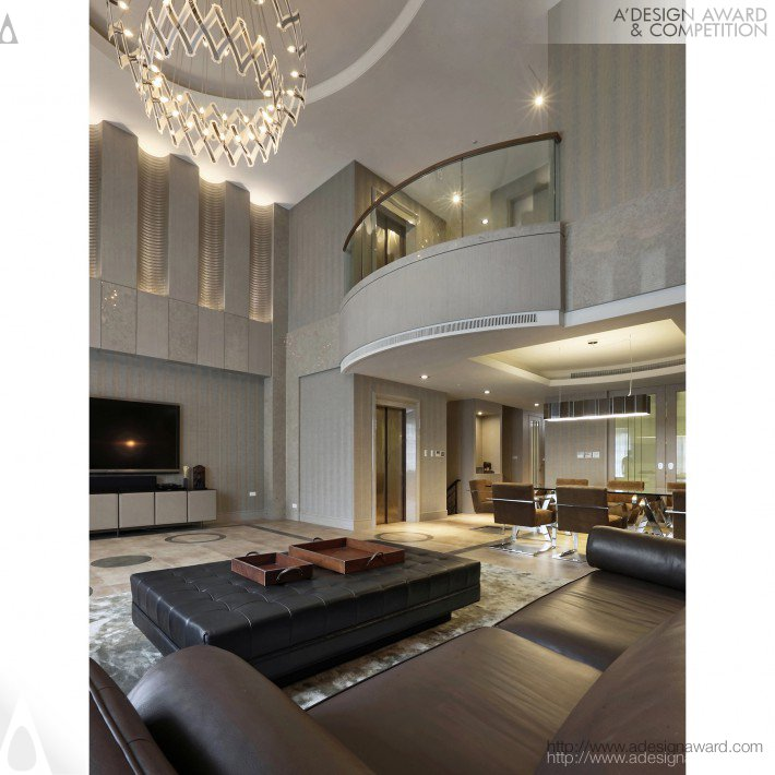 Che-Tsung Chang - Rareness of Elegance Interior Design of Residence
