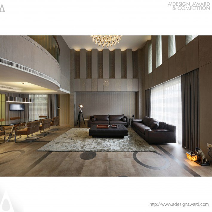 Rareness of Elegance Interior Design of Residence by Che-Tsung Chang