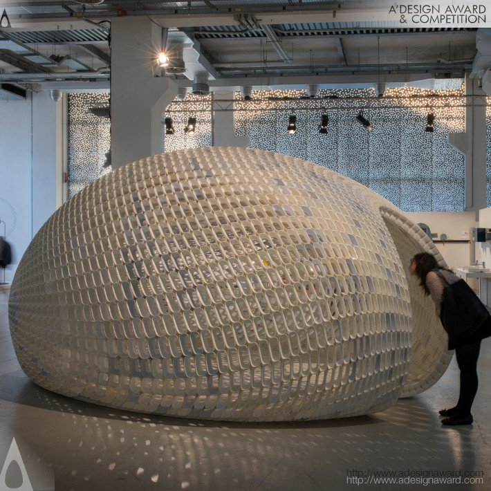 Project Egg Small Pavilion by Michiel van der Kley