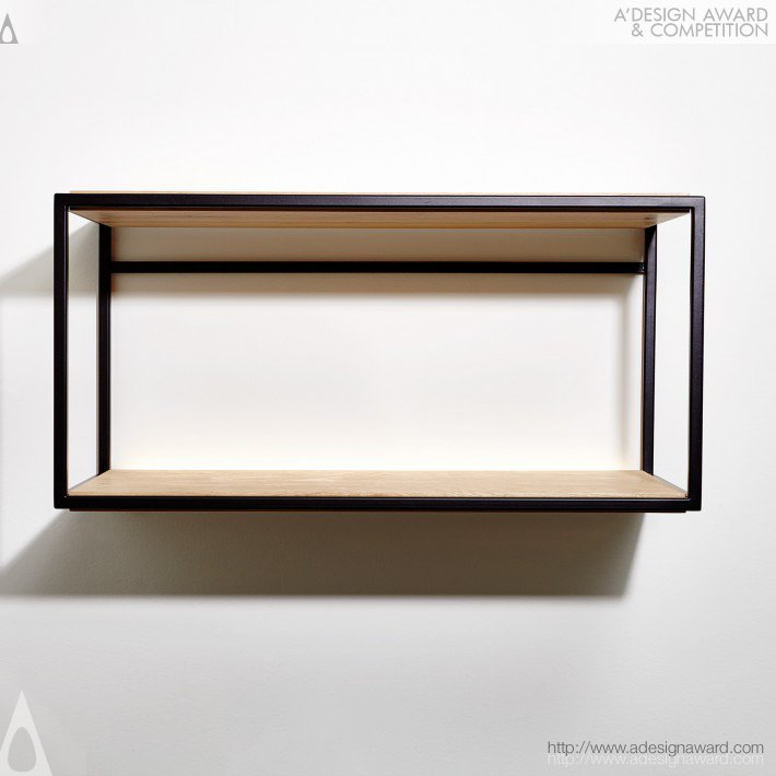 Bain Shelf by Philippe Beauparlant