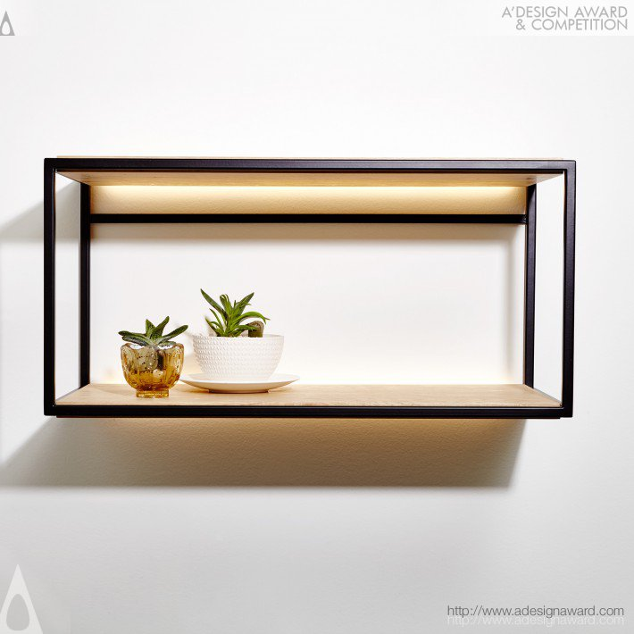 Wall Shelf by Philippe Beauparlant