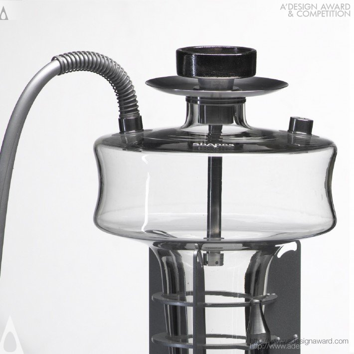 A 39 design award and competition shapes hookah for for Press kit design