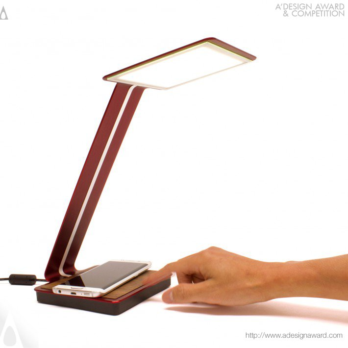 Desk Lamp by Ray Kwa