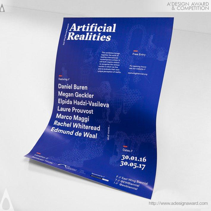 Artificial Realities (Exhibition Identity Design)
