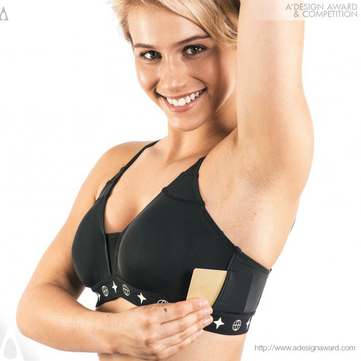 The Travel Bra (Anti-Theft and Comfort Design)