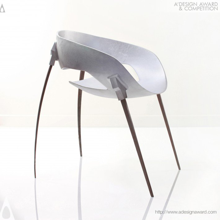 Sputnik Chair by Harold Sangouard