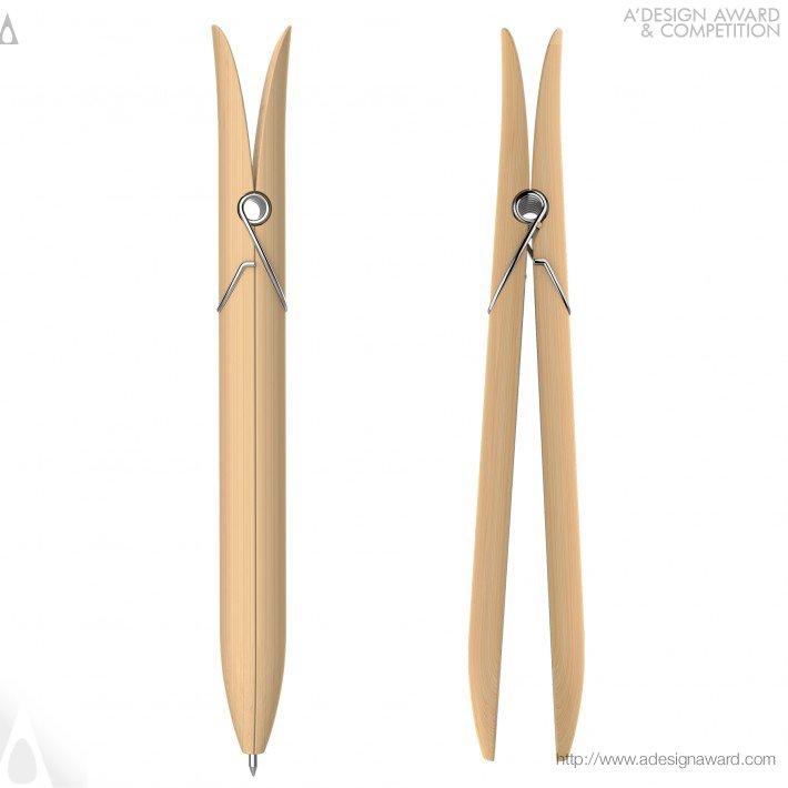 Harmony (Sustainable Bamboo Pen Design)