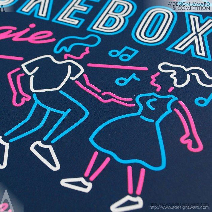 Jukebox Boogie Fundraiser (Poster Design)