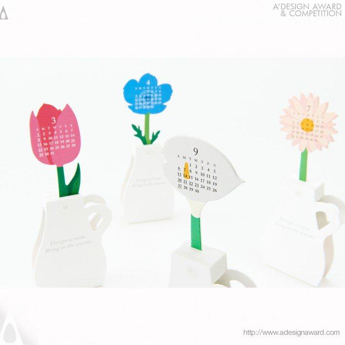 "Calendar 2015 ""flowers"" (Calendar Design)"