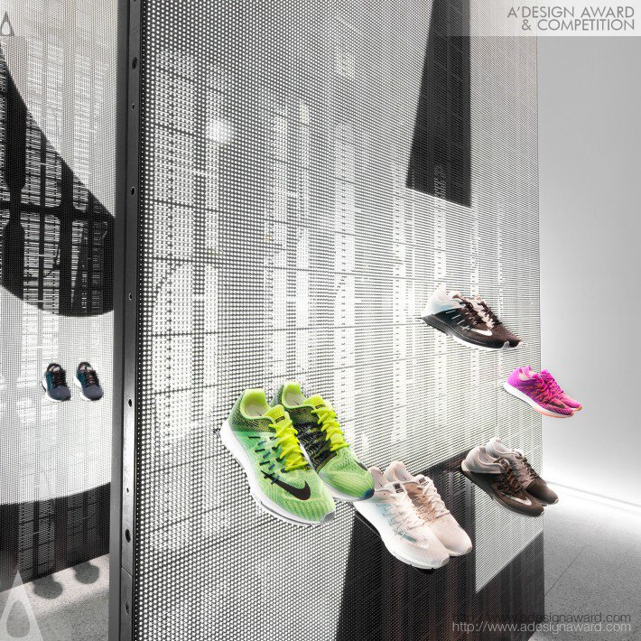 Nike Studio Beijing (Retail Pop-Up Design)