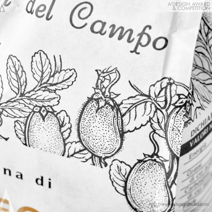 Racconti Del Campo Logo, Packaging Identity by Neom