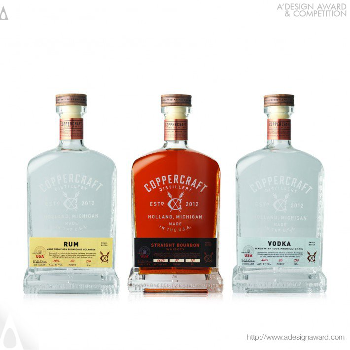 David Schuemann - Coppercraft Spirits Packaging