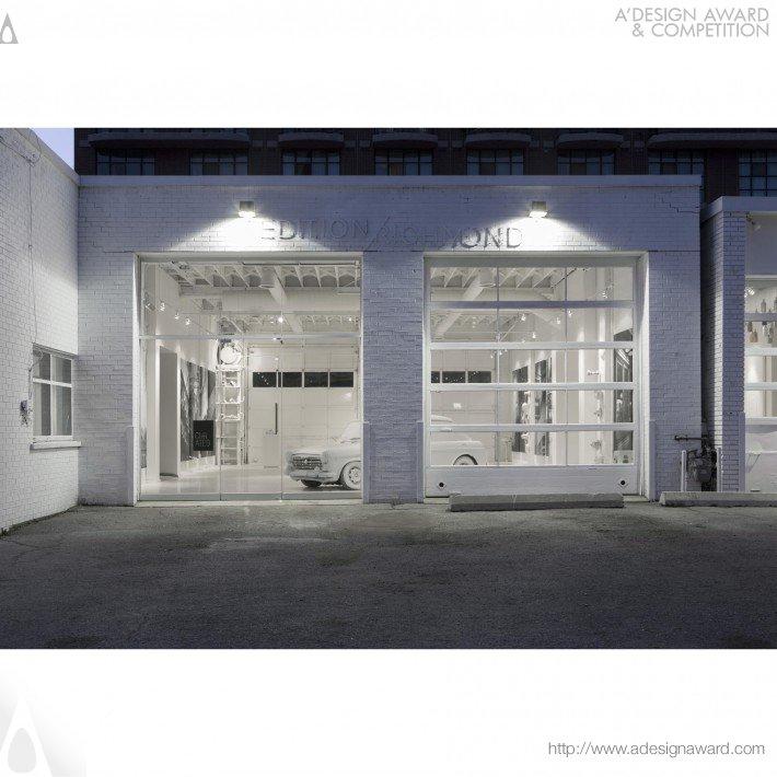 Edition Richmond (Urban Townhomes Presentation Centre Design)