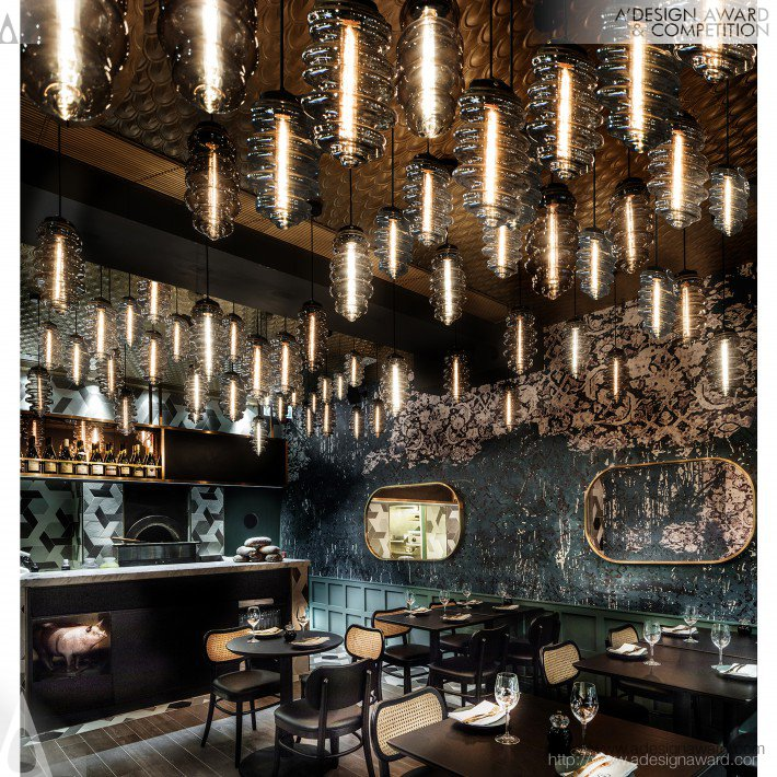 12, 000 Francs (Restaurant and Bar Design)