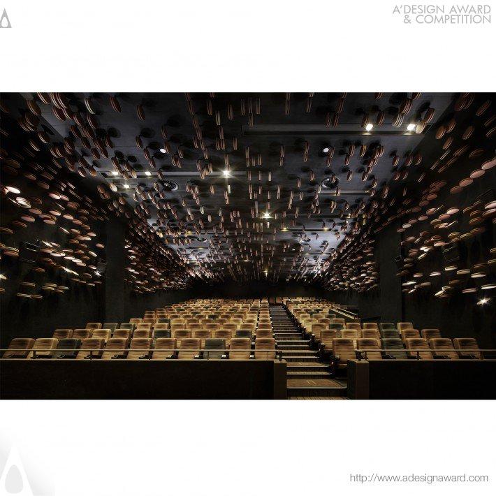 Wuhan Wushang Mall Cinema 9F Cinema by Ajax Law and Virginia Lung
