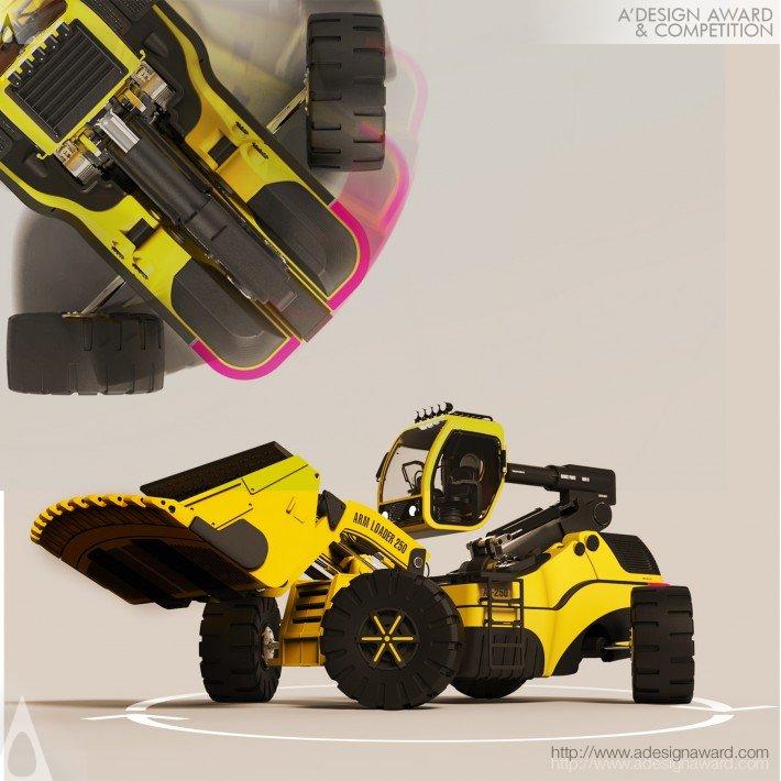 Arm Loader (Wheel Loader Design)