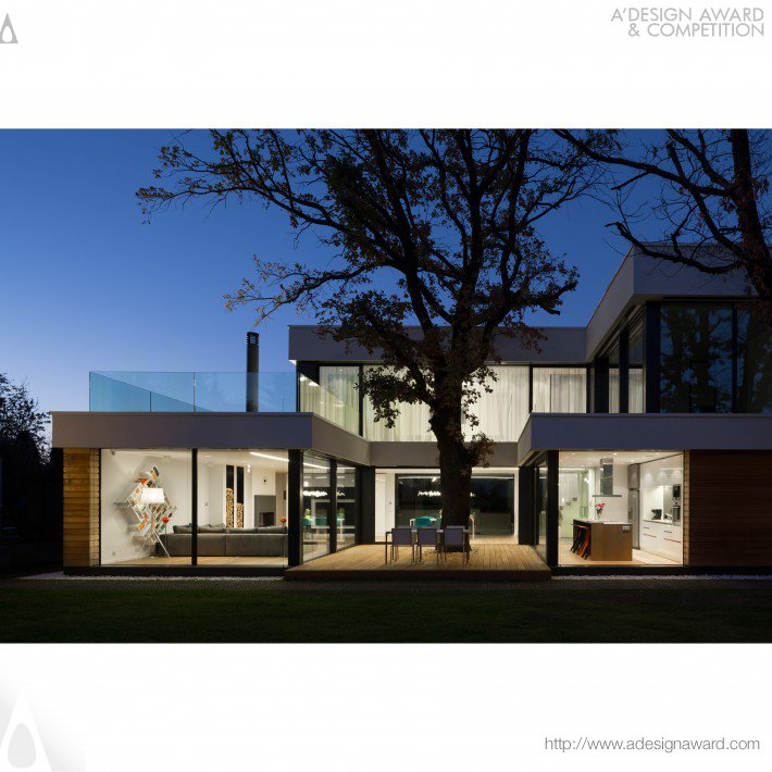 A 39 design award and competition images of 2 oaks house for Design house architecture ltd