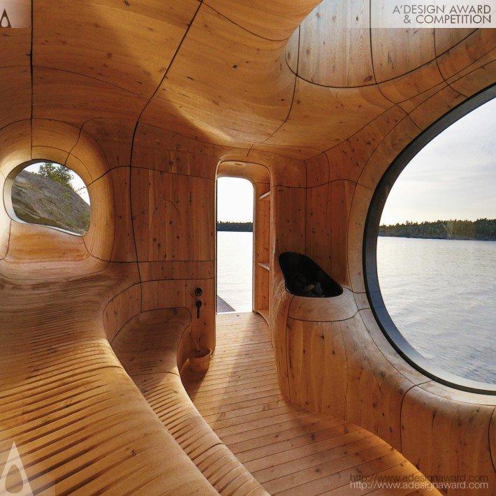 Grotto Sauna (Freestanding Residential Sauna Design)