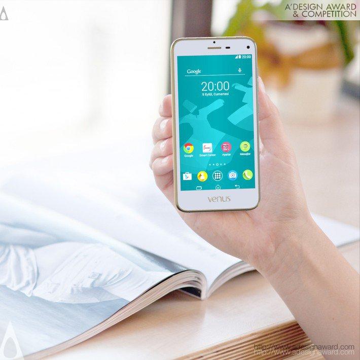 """Venus 3r 5&quot (Venus 3r 5"""" Smart Phone Design)"""