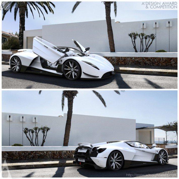 Shayton Equilibrium (Hypercar Design)