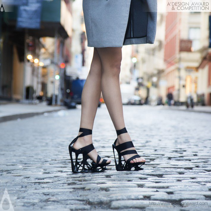 Atossa (3d Printed Footwear Design)