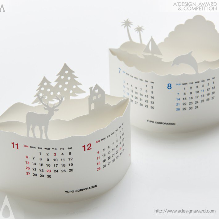 Arc Calendar (Calendar Design)