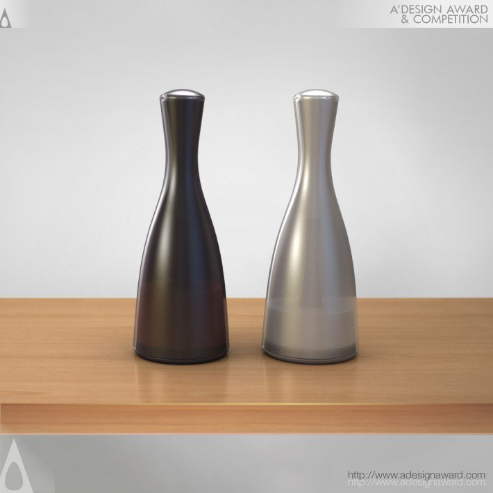 Campanula (Salt and Pepper Shaker Set Design)
