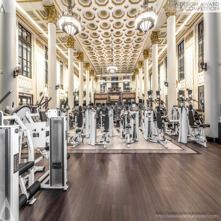 Historic Bank Fitness Facility by Lori Ireland