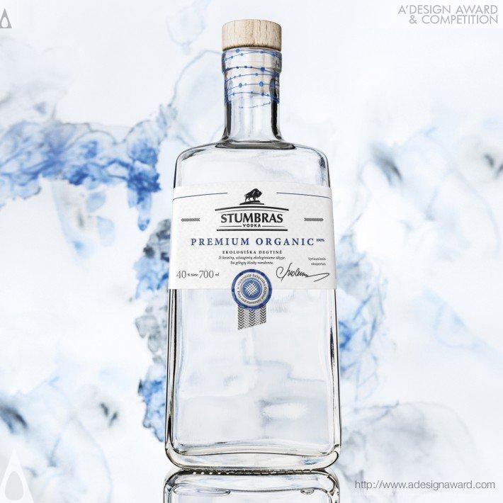 Stumbras Premium Organic (Vodka Bottle Design)