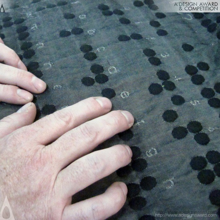 Textile Braille Educational-teaching, Tactile by Cristina Orozco Cuevas