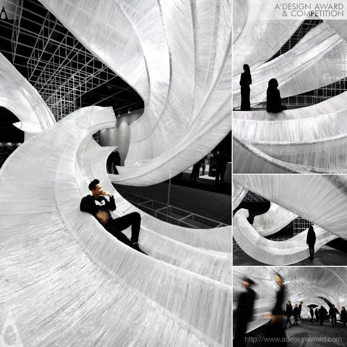 Pone Transparent Shell (Exhibition Space Design)