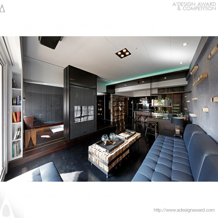 Chih-Ming  Lin - Heavy Metal Rock and Roll Interior Design of Residential