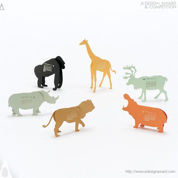"Calendar 2014 ""safari"" (Calendar Design)"