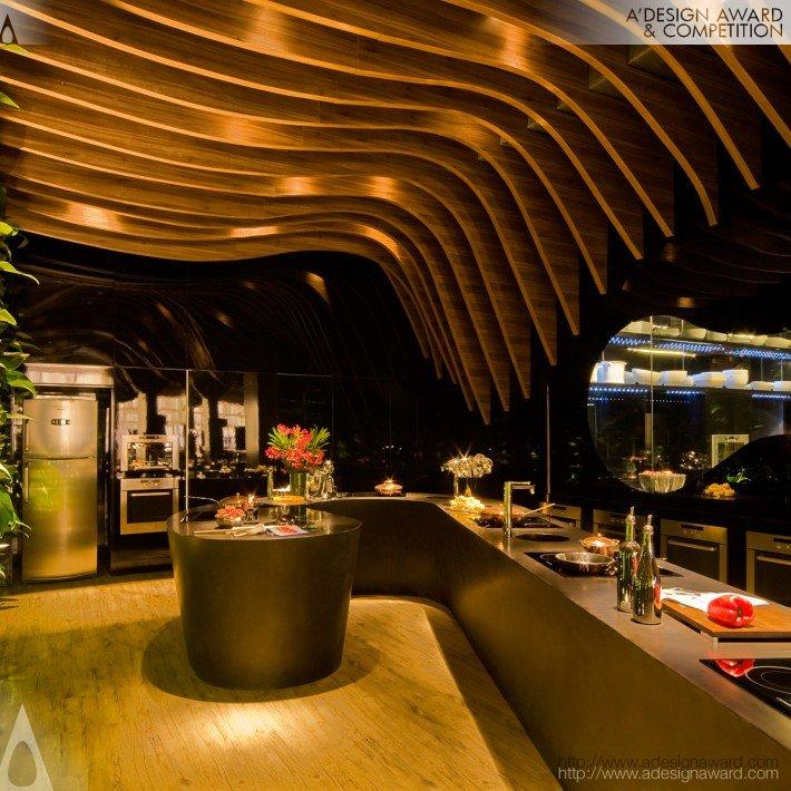 Chef Kitchen and Lounge (Exhibition Design)