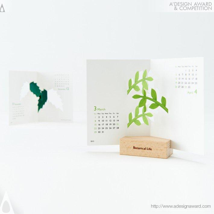 "Calendar 2015 ""botanical Life"" (Calendar Design)"