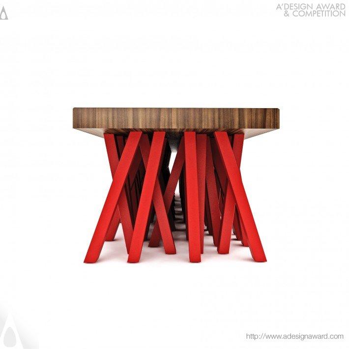 Centopéia (Bench, Table Design)