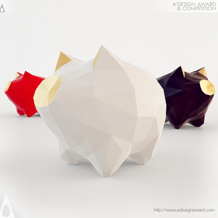 Deepe (Table Decoration, Piggy Bank Design)