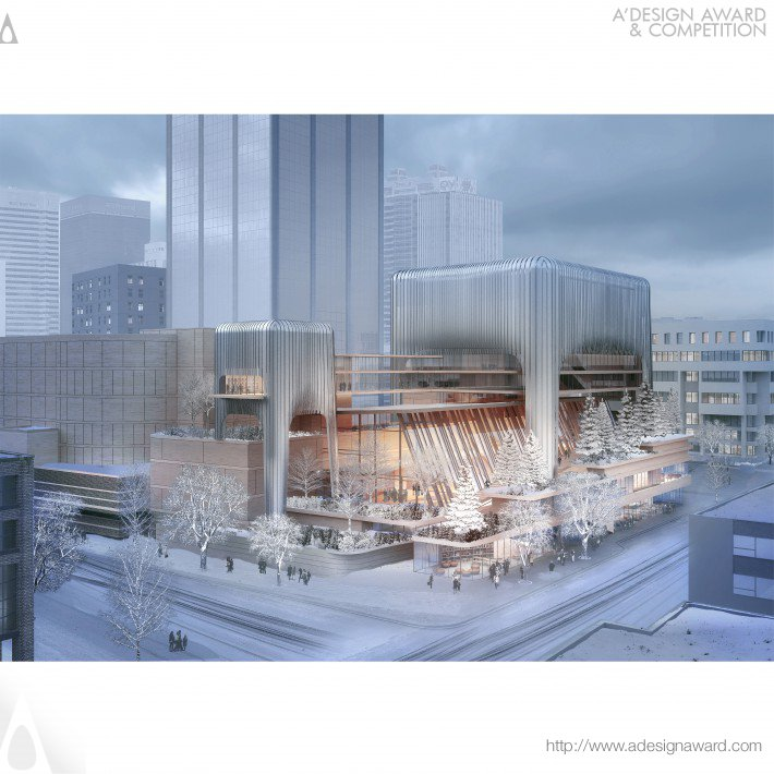 Winspear Completion Project Arts, Concert Hall by Andrew Bromberg