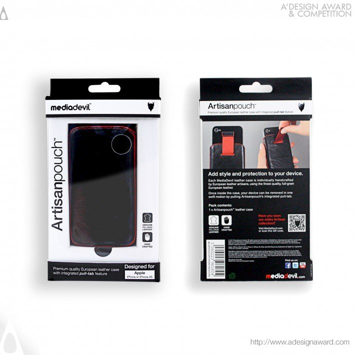 Mediadevil Artisanpouch Packaging Design (Accessory Packaging Design)