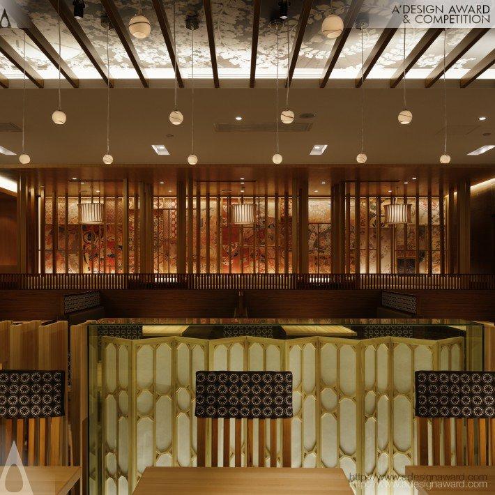 Saboten Beijing The 1st (Japanese Cutlet Restaurant Design)
