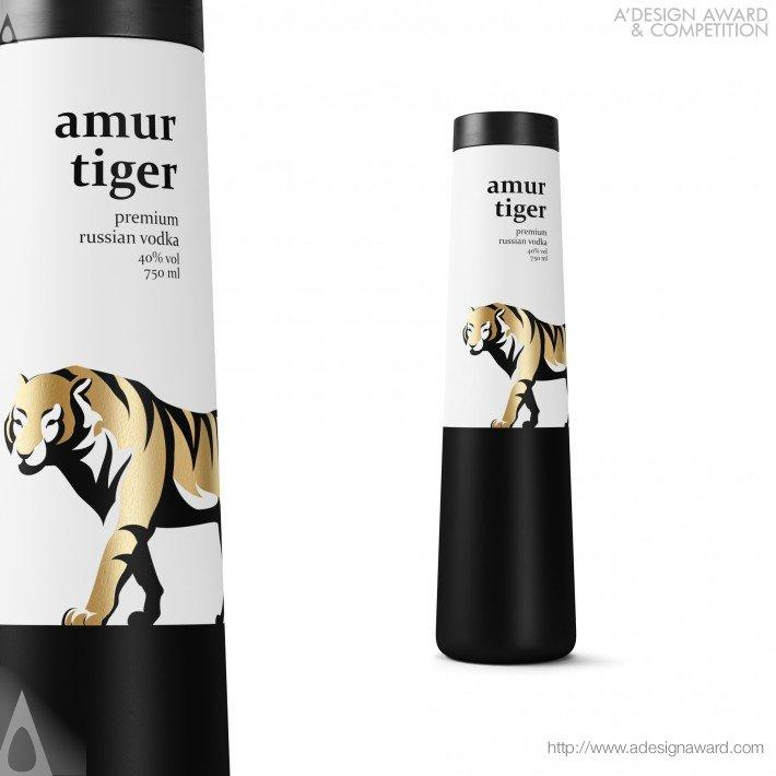 Amur Tiger (Vodka Bottle Design)