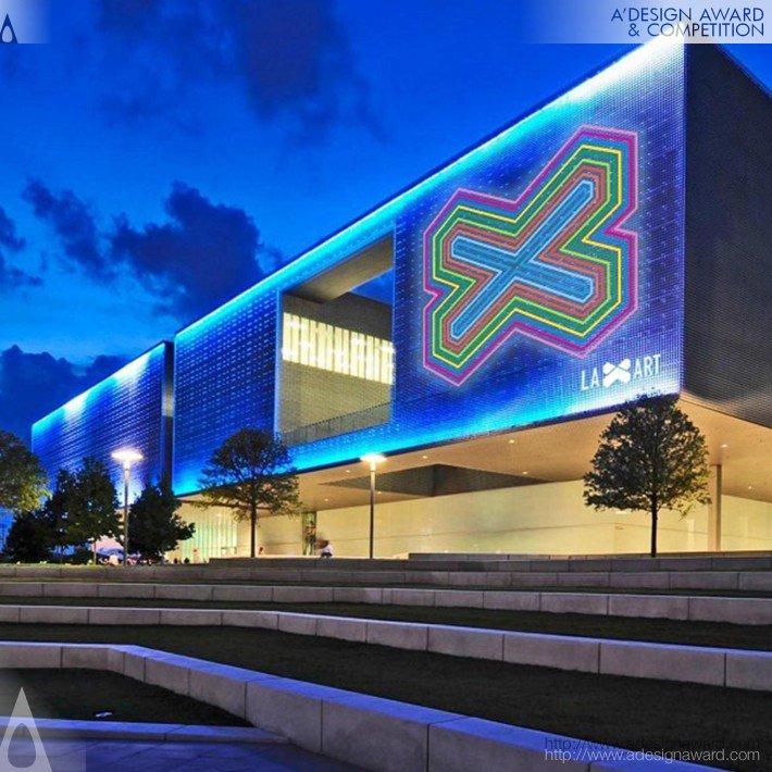 Laxart Museum (Transmedia Rebranding Design)